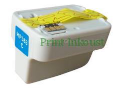 Azurová inkoustová kazeta HP 363, (C8771EE) Modrá, 6 ml