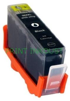 Černá inkoustová kazeta HP 364 (CB316EE), s čipem Černá, 26 ml