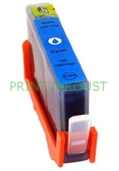 Azurová inkoustová kazeta HP 364 (CB318EE), s čipem Modrá, 16 ml