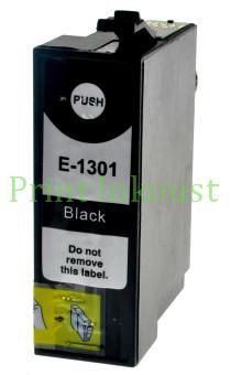 Náplň Epson T1301 černá s čipem Černá, 30 ml