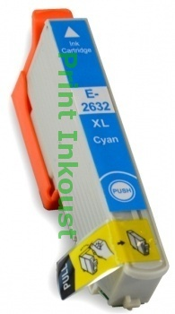 Náplň Epson T2632 modrá s čipem Modrá, 12 ml