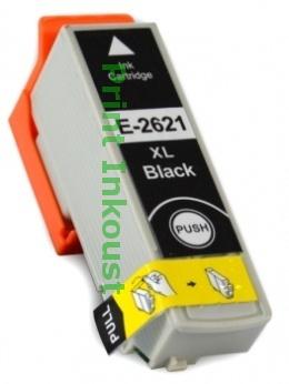 Náplň Epson T2621 černá s čipem Černá, 28 ml