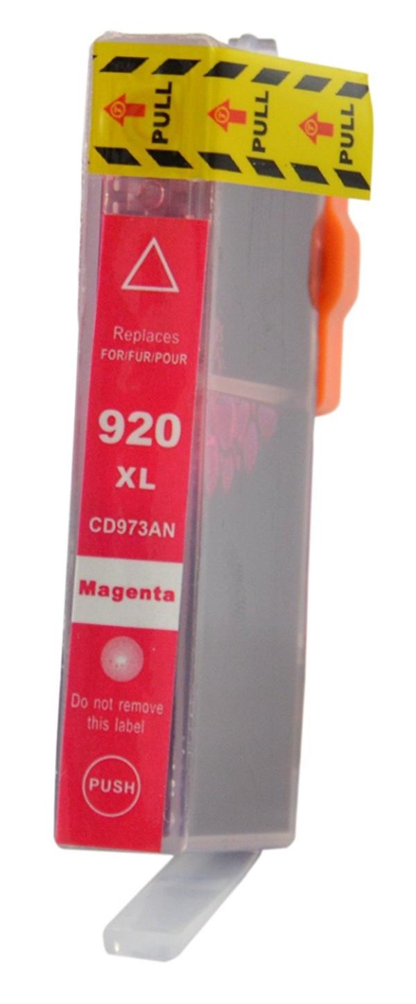 Červená inkoustová kazeta HP 920XLM ( CD973AE ) Modrá, 15 ml