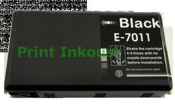 Kompatibilní náplň EPSON T7011 černá Černá, 70 ml