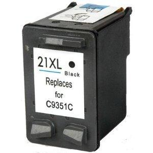 Černá inkoustová kazeta HP 21 ( C9351C ) - Kompatibilní
