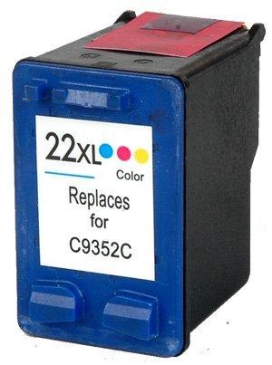 Tříbarevná inkoustová kazeta HP 22 ( C9352C ) - Kompatibilní