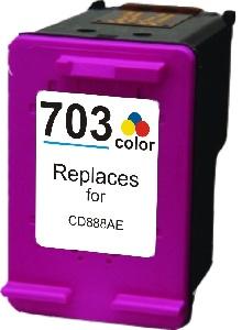 HP Č. 703 ( CD888AE ) Color - kompatibilní