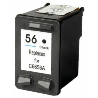 Černá inkoustová kazeta HP 56 ( C6656AE ) - Kompatibilní