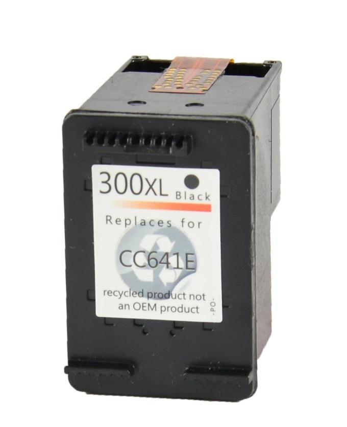Černá inkoustová kazeta HP 300 ( CC641EE ) - kompatibilní