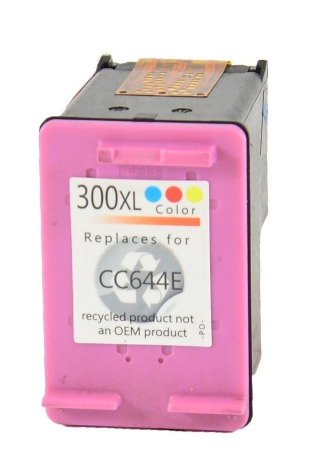Tříbarevná inkoustová kazeta HP 300 ( CC643EE ) - kompatibilní
