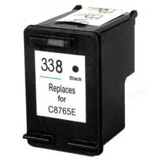 Černá inkoustová kazeta HP 338 ( C8765A ) - Kompatibilní