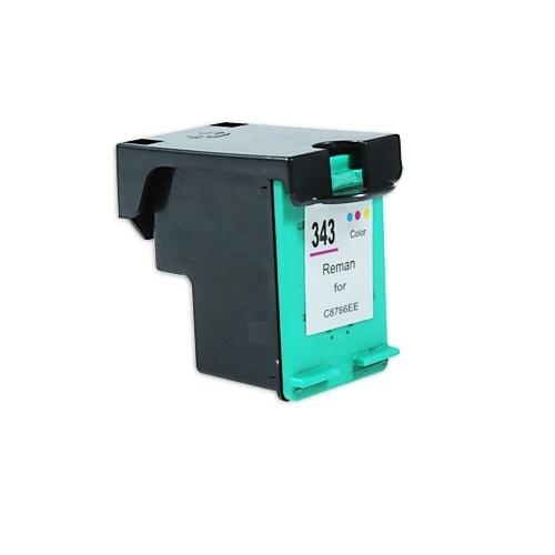 Inkoustová cartridge HP color C8766EE (č.343) - Kompatibilní