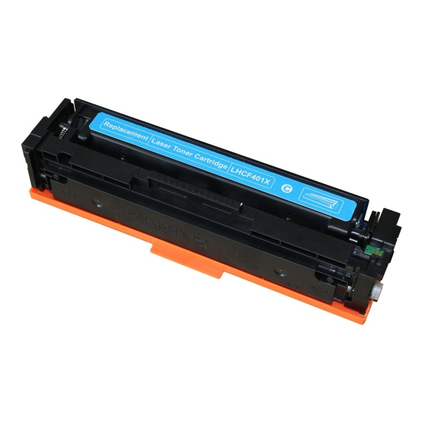 Laserový toner HP CF401X Cyan (2.300str.) - 201X
