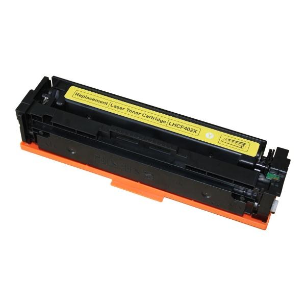 Laserový toner HP CF402X Yellow (2.300str.) - 201X