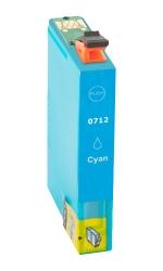 Epson T0712 modrá - kompatibilní