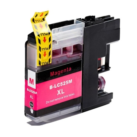Brother LC-525XL Magenta - kompatibilní